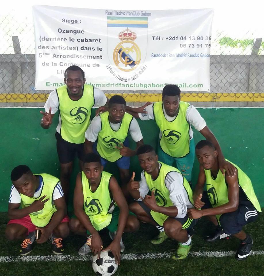 Membres FanClub Real de Madrid au Ballon d'Or